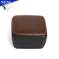 New PU Leather Cufflink box Jewelry Packaging Boxes