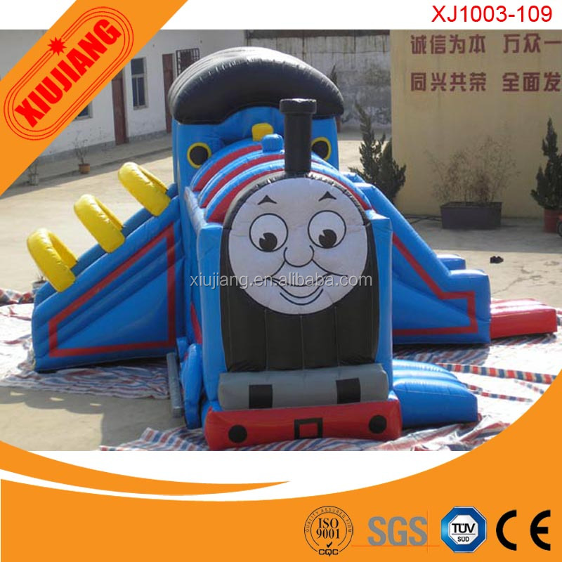 Thomas Train Kids Jumping Play Center Inflatable Sporting Castle for Garden