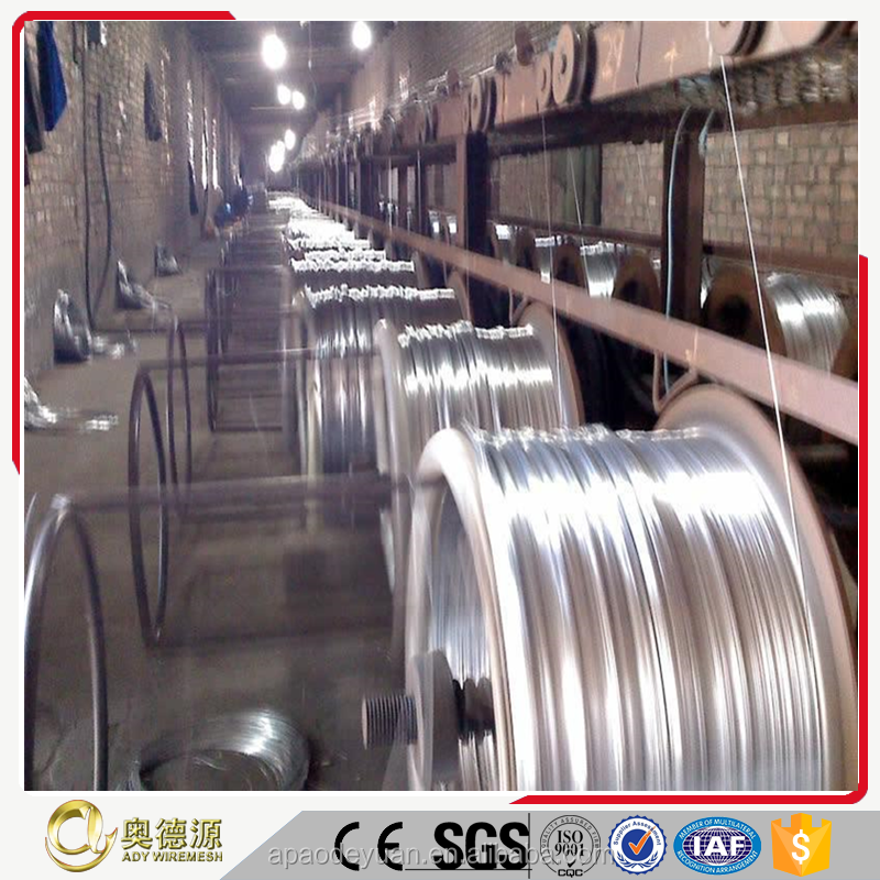 2016 hot sale Electro / Hot Dipped Galvanized Iron Wire Factory Production
