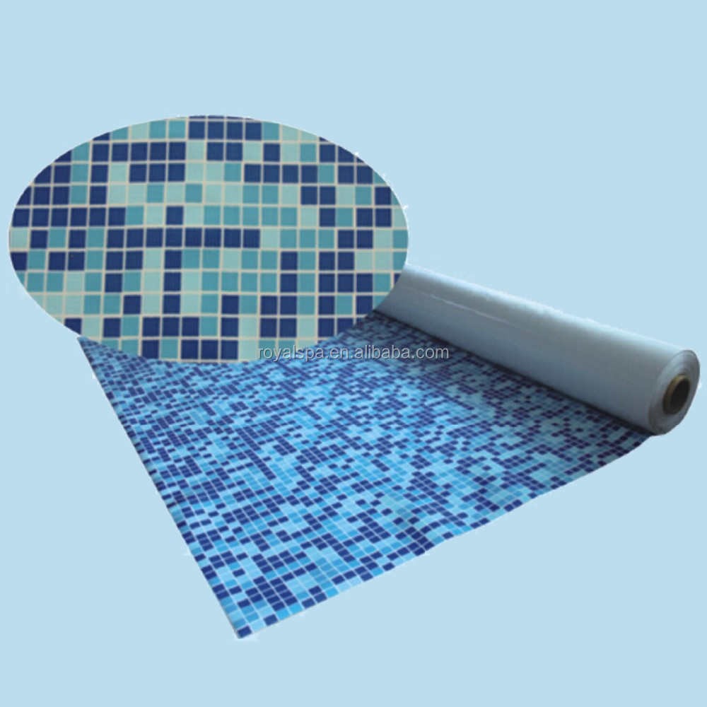 Hot sell Mosaic pvc swimming pool liner