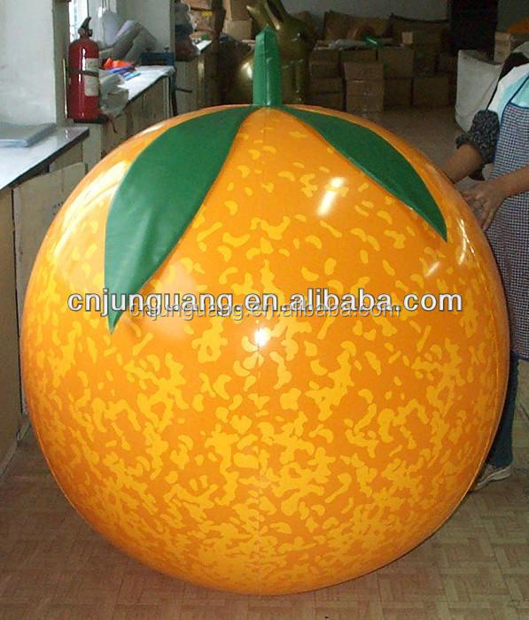 advertising Giant orange inflatable fruit for sale