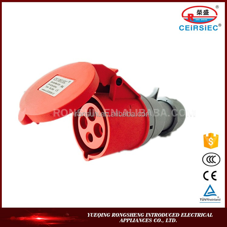 High Quality Manufacturer Industrial IP44 rotating electrical connectors