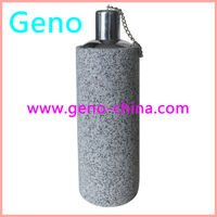 cylinder shape grey color the oil lantern small oil lamp