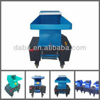 plastic machine crusher for recycling line