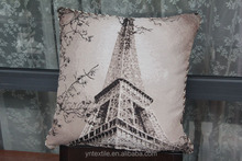 wholesale design embroidered linen crochet plain cushion covers cotton