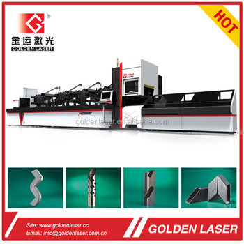 Fiber Laser Metal Tube and Pipe Cutter with Automatic Bundle Loader