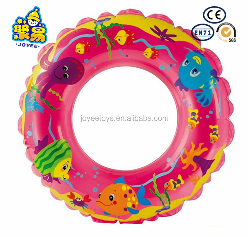 OEM inflatable custom swim ring float