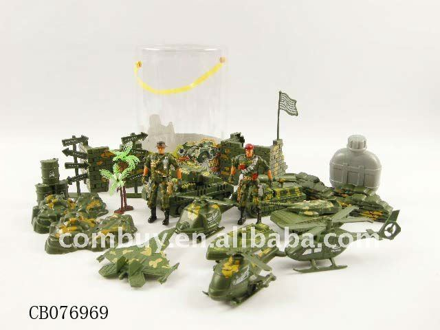 hot selling kids game plastic toy army soldiers
