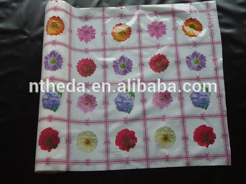 Factory Directly Waterproof Hotel Restaurant Table Cloth of CE and ISO9001 standard