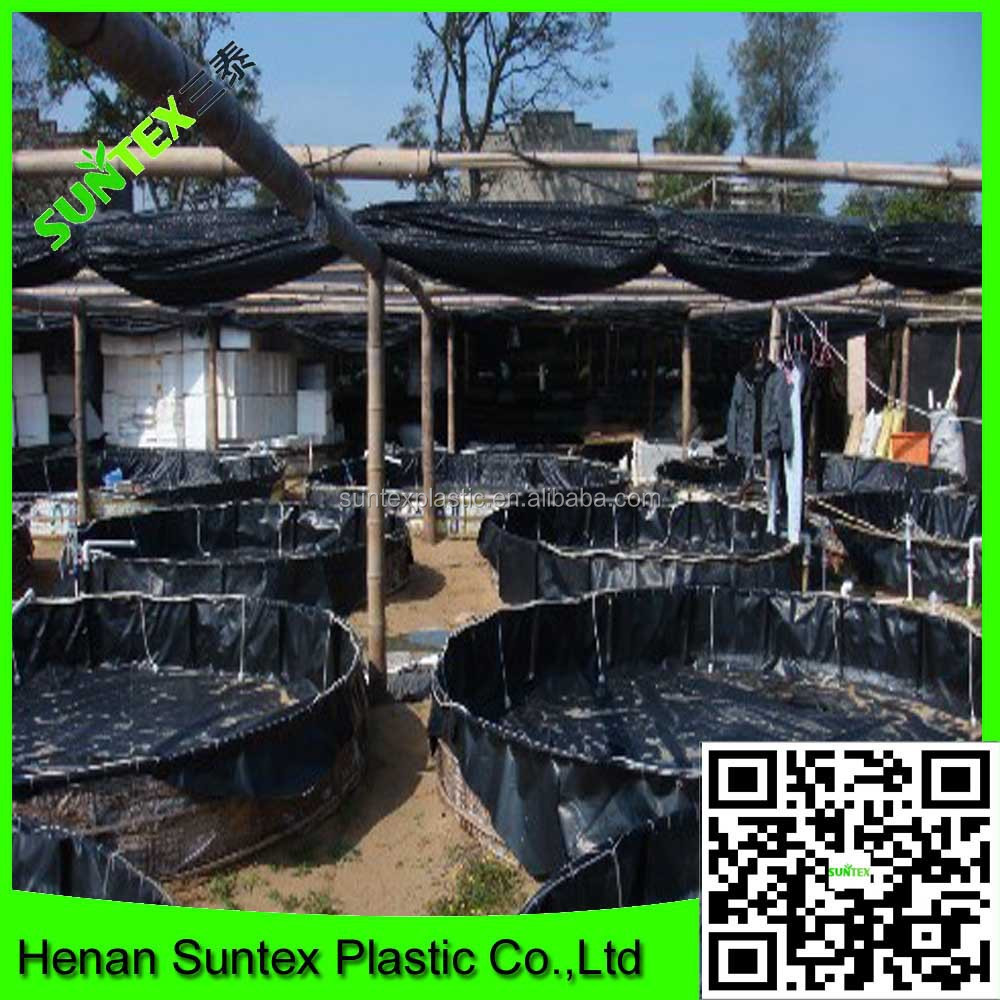 Virgin Woven Fabric Hdpe Water Tank Liners Black Lining