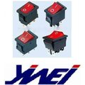4pins 6pins 2pins red color O I rocker switch t85