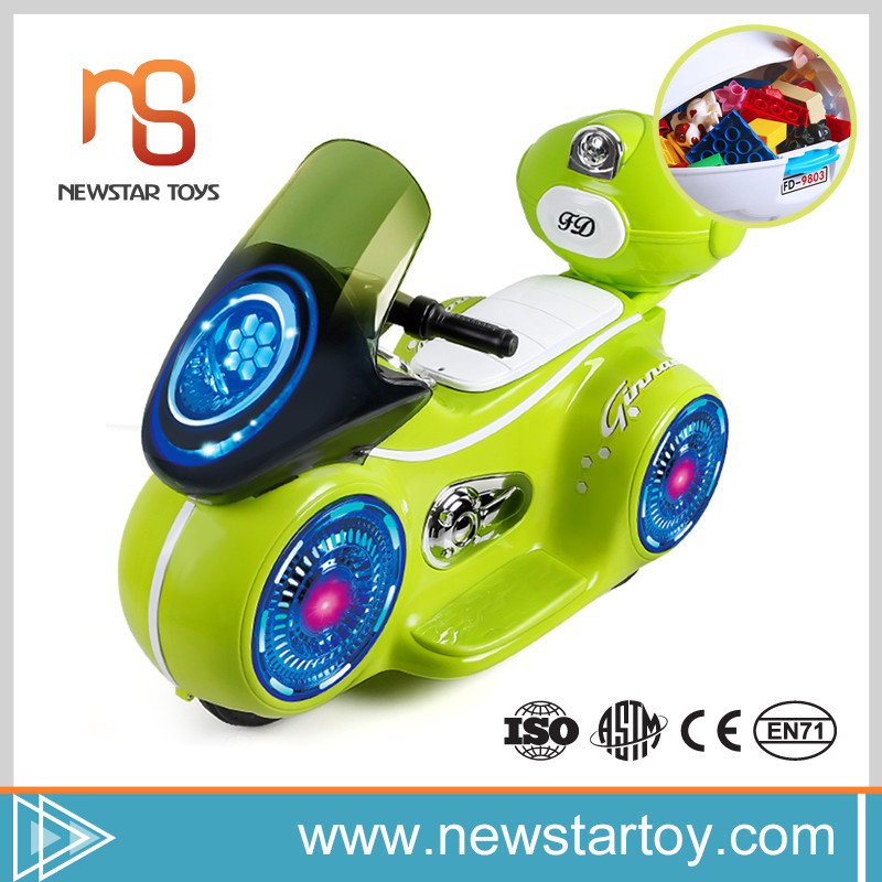 Popular 2016 hot sell lovely kids ride on plastic motorcycle for sale