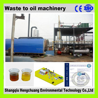 automatic tyre and plastic pyrolysis plant with 45% high oil yield safety 100%