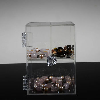 cheap jewelry display box stand concealed hinge for bangles