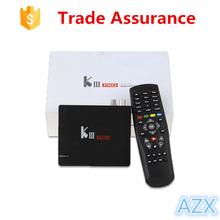Amlogic S912 64 bit Octa core KIII Pro RAM 3GB ROM 16GB android tv box DVB-S2 T2 receiver OTT 4K