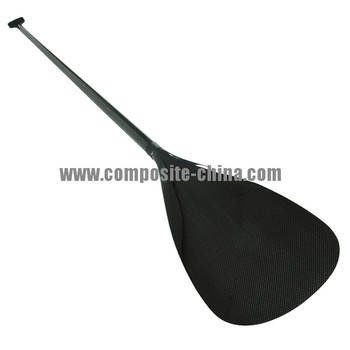 good looking 3k plain finish carbon fiber kayak paddle