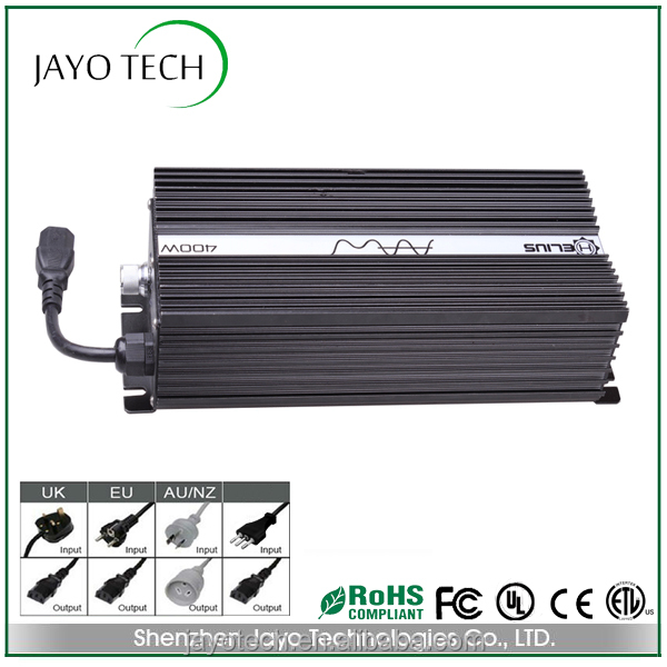 400W high utilization electronic digital dimmer ballast for plant grow