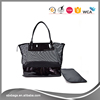 Waterproof Mesh Duffel Beach bag Tote Bag with Shoe Compartment