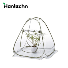 Plastic Pop up Mini Well-funded backyard film greenhouse good for wholesale