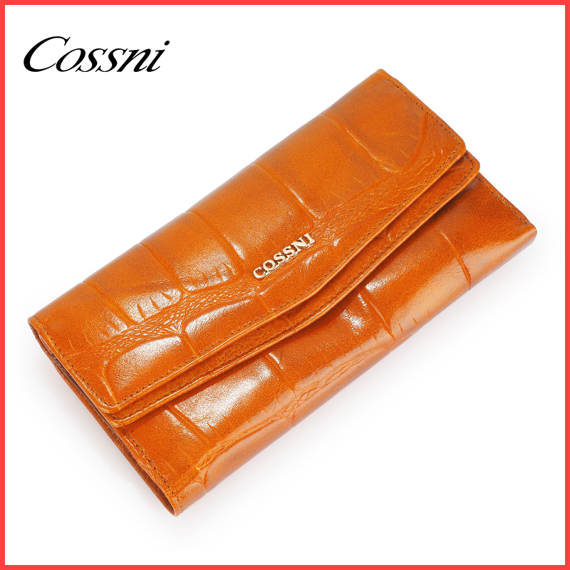 high quality money wallet ladies leather purse, Portemonnaie