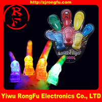 China factory directly sale led flashing toy led finger magic thumb lights