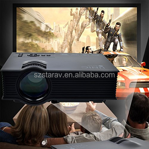 Original UNIC UC46 Mini Portable Projector Miracast Support Full HD 1080P Video Home Theater Fashion