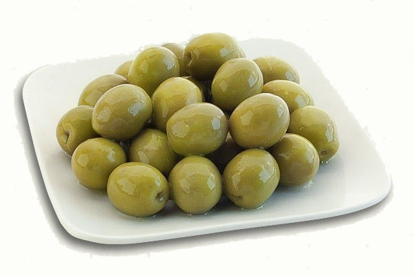 Green Whole Table Olives