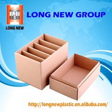 Brochure organizer paper cardboard box packaging
