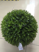 artificial grass ball topiary party decoration boxwood ball ornaments artificial topiary ball