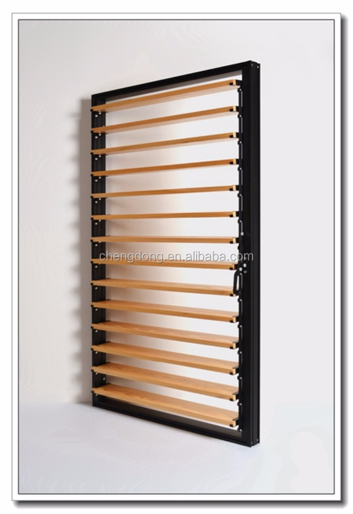 Sunroom design aluminum frame shutter windows made in china with low price