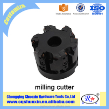 Special End/Face Mill Cutter Holder Using Cartridges With Axial And Radial Adjustment