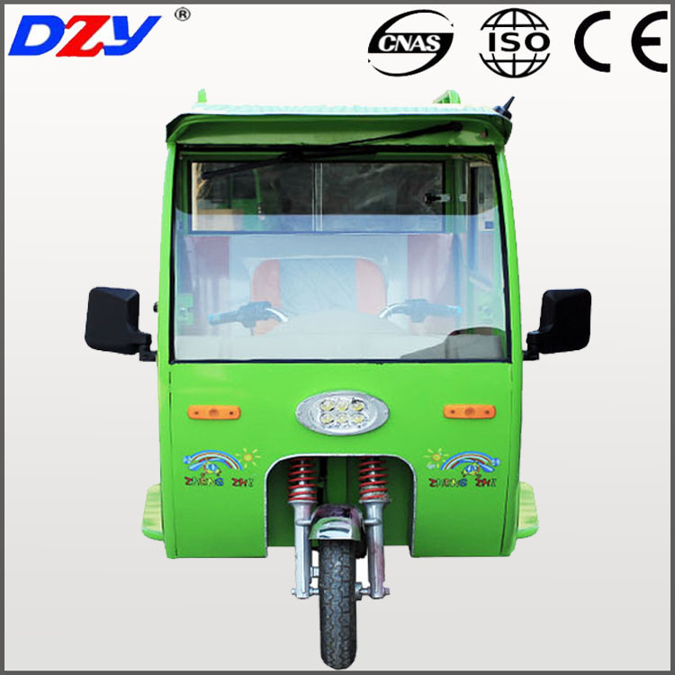 Electric Tricycle Pedicab Vehicle Rickshaw Car Three Wheeler Trike
