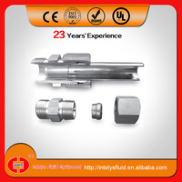 Stainless steel ss ,Eaton Parker Analog, Metric Thread Bite type, single ferrule, hydraulic tube fitting