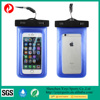 High evaluation durable cell phone waterproof bag,mobile phone PVC water resist cases