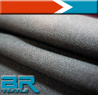 The polyester fabric make to ord polyester spandex fabric by Plain Dyed