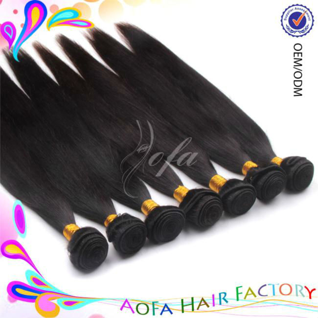 Pretty AAAAA grade natural color ion hair products