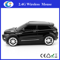2.4G 1600DPI 3D Car Wireless Optical Mouse For Laptop PC
