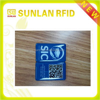 customized size full color printing plastic nfc rfid rewritable mini epoxy card with URL encoding(professional manufacturer)