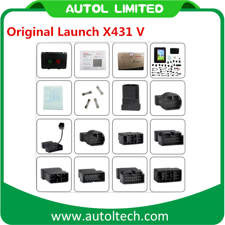 2017 New Arrival Original Launch X431V Russian/French/Germany Optional With 72 Kinds of Software With Android Tablet PC