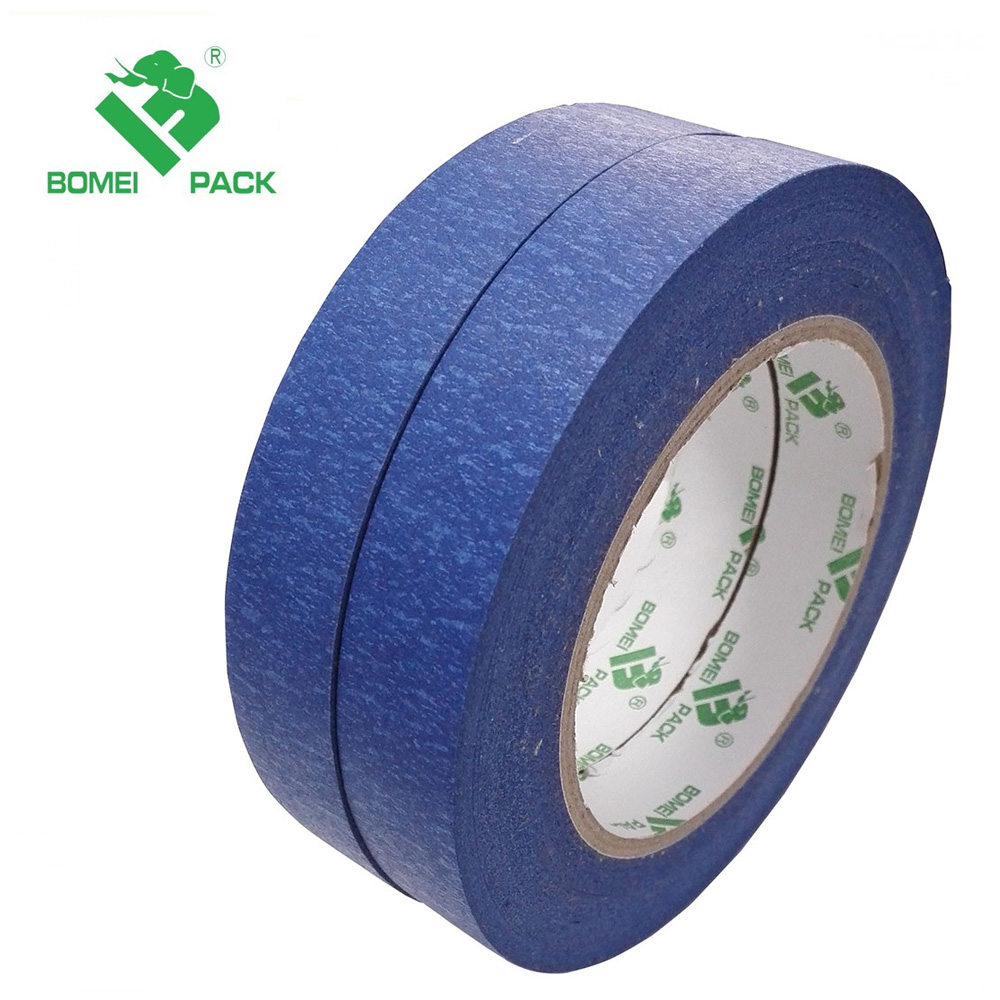 Cheap custom printed blue painters masking tape for house paint