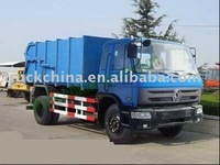Qingte 4x2 garbage collecting dump truck