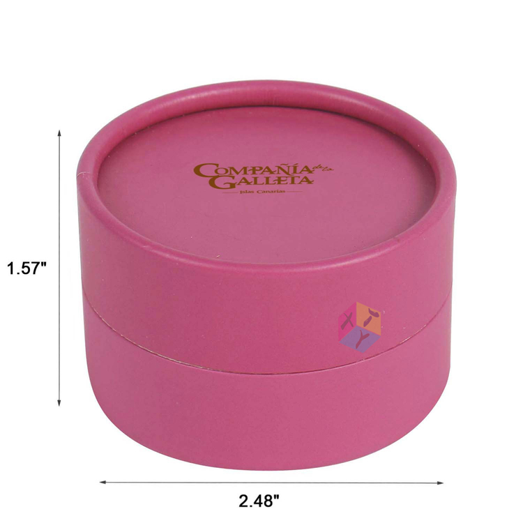 eyelash storage round box paper packaging
