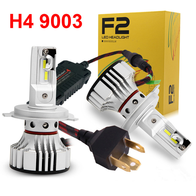 F2 H4 9003 HB2 <strong>LED</strong> Headlight Headlamp 72W 12000LM xenon White Hi/Low <strong>Car</strong> h4 <strong>led</strong> fog head light Bulb f2 h4 H13 9004 9007 <strong>led</strong>