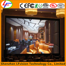 Super Slim P2.5P3P4 Indoor LED Video Panel LED DJ Booth / Music Videos LED Wall Panel