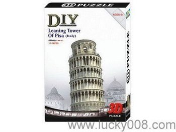 PAPER 3D PUZZLE LEANING TOWER OF PISA(ITALY)