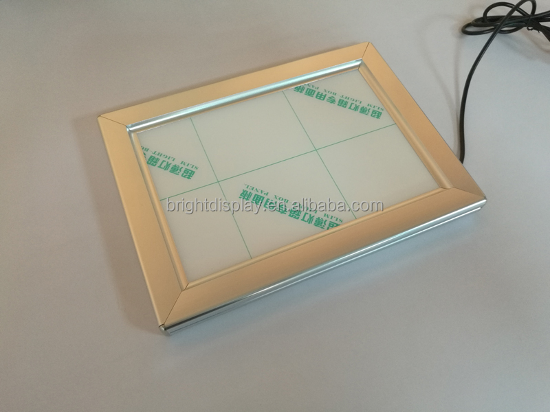 New <strong>advertising</strong> aluminum <strong>LED</strong> slim snap <strong>frame</strong> light box,alibaba <strong>frame</strong> <strong>A0</strong> A1 A2 A3 A4 light box aluminum <strong>frame</strong> box
