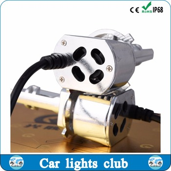 High quality automobiles & motorcycles auto led headlights h1,h3,h4 for auto head lamp