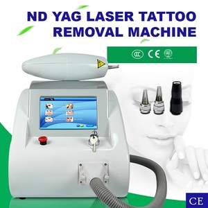 Big surprise for Christmas ! portable ND YAG Laser Tattoo Removal 1064 nm 532nm nd yag laser