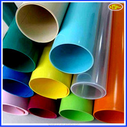 white blue yellow transparent transparency colorful pvc plastic suppliers