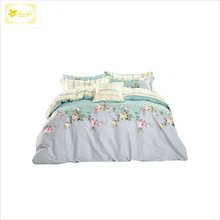 HongLi 100% Cotton Unique beautiful printing quilt cover sets 250cm width high quality cotton fabric for home textile